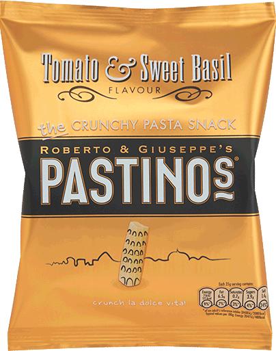 Pastinos Tomato and Sweet Basil Snacks