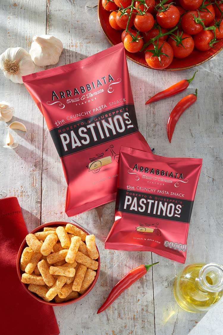 Pastinos Arrabiatta Snacks
