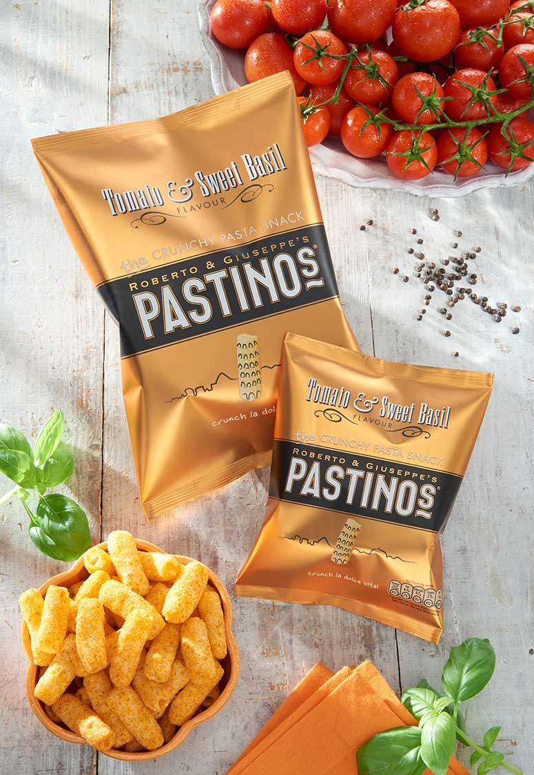 Pastinos Tomato and Sweet Basil Snacks